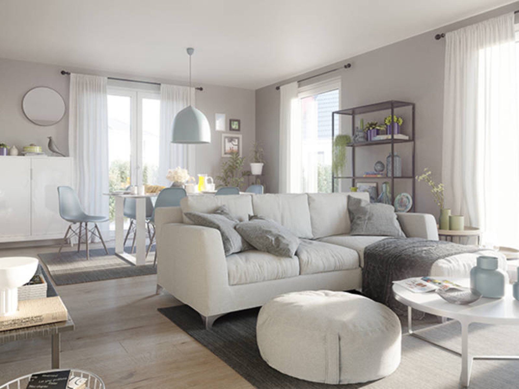 Wohntrends 17: Möbel, Farben und Muster zum Wohlfühlen